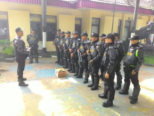Pengamanan Wilayah Cibinong